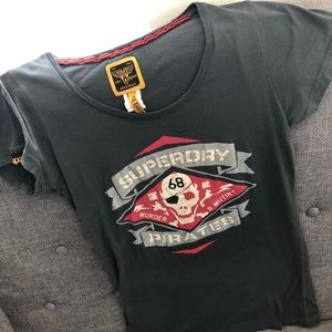 Superdry Skull Pirate T-shirt M